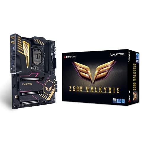 Biostar Z590 Valkyrie 11th 10th Gen Intel LGA1200 PCIe 4.0 ATX Gaming Motherboard