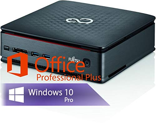 Ankermann Home Office Work Silent Mini PC 8GB RAM 240GB SSD Windows 10 PRO Esprimo Q920 i5-4570T Office Professional