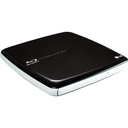 LG Super Multi Blue Slim Portable with 3D Blu-ray Disc Playback and M-DISC Support CP40NG10