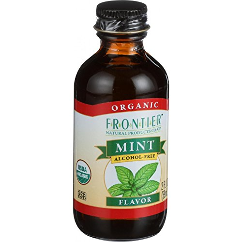 Mint Flavor-Alcohol Free (Organic) Frontier Natural Products 2 oz Liquid