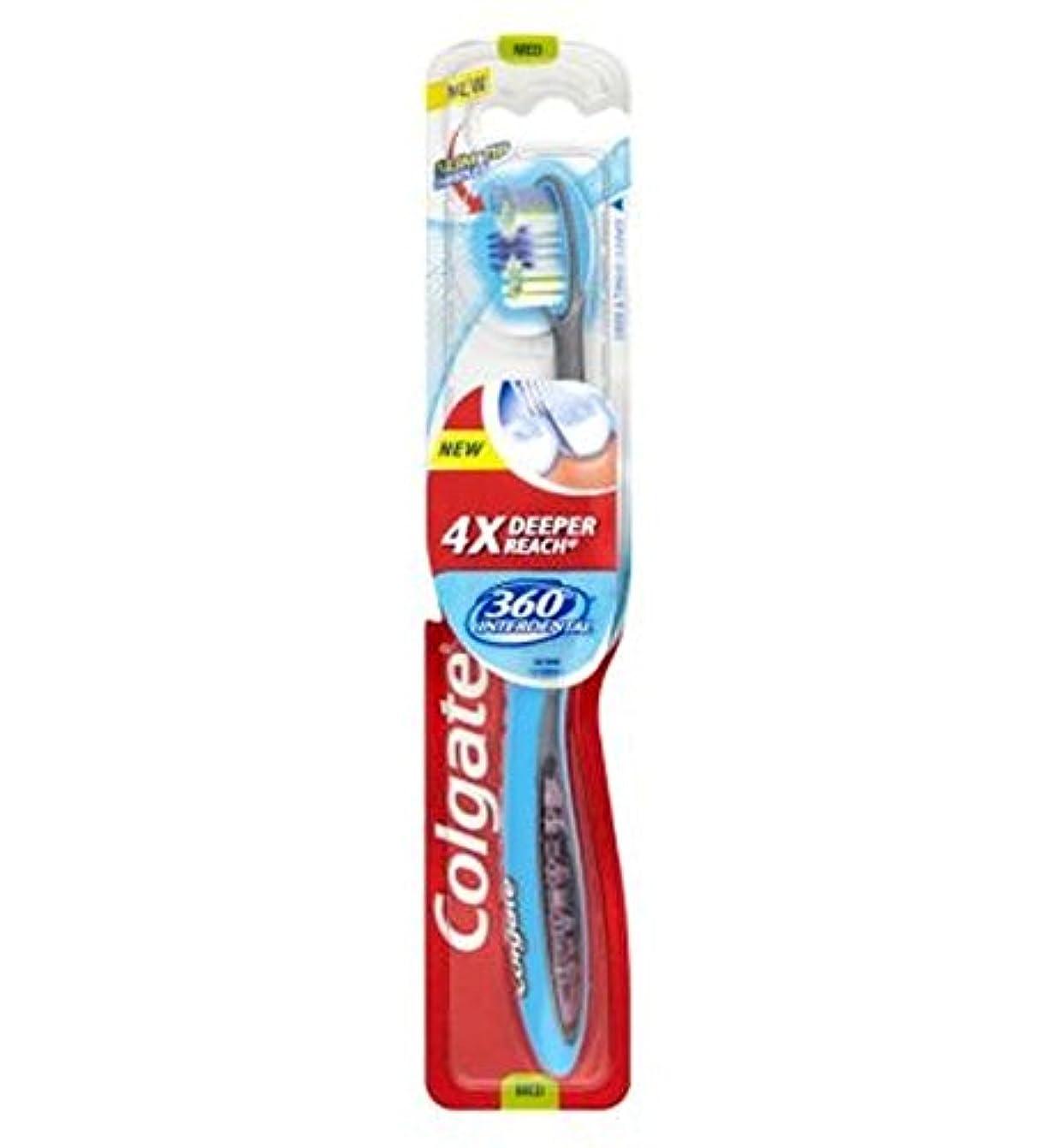 ぼんやりした民間人記念碑[Colgate ] コルゲート360°歯間歯ブラシメディア - Colgate 360? Interdental Medium Toothbrush [並行輸入品]
