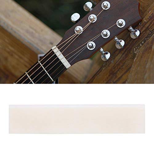 Reemplazo de sillines de guitarra, reemplazo de almohadilla de cuerda de tuerca...