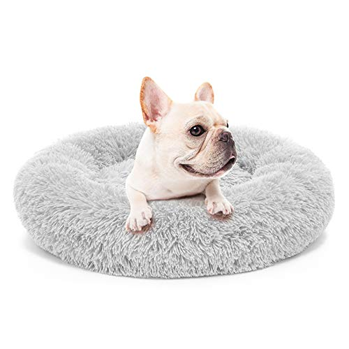 MIXJOY Orthopedic Dog Bed Comfortable Donut Cuddler Round...