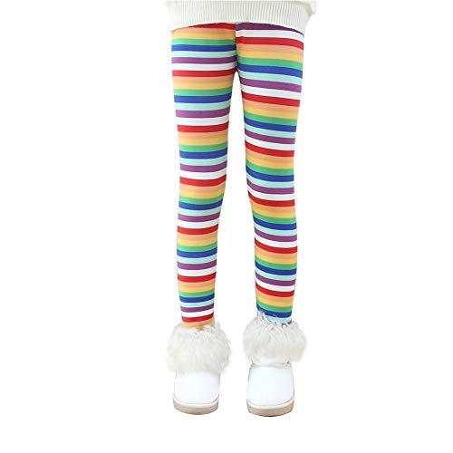 Lazzon Niña Invierno Leggings Mallas Pantalones Largos