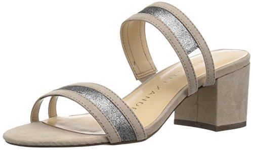 Athena Alexander Women's Zayden Heeled Sandal, Taupe Suede, 10 M US