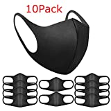 Pack of 10 Face Mask Anti-Dust Mask Fashion Protection Mask Cold Protection Cotton Washable Reusable Anti-fog...