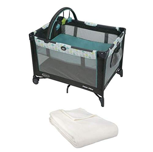 Pack 'n Play On The Go Playard with Bassinet & Blanket (Fletcher)
