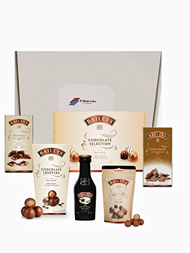 Baileys Hamper Gift Set - A selection of Irish cream flavoured chocolates containing a selection of truffles and chocolate bars