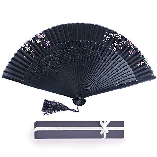 成人式 扇子 レディース メンズ 男性 女性 おしゃれ 高級 かわいい シルク 暑さ対策 桜 花柄 母の日 プレゼント