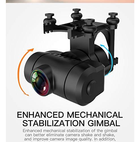 Iunser Kf102 4K HD Cameras Drone Quadcopter para adultos y niños, Smart Return To Home, Rc Quadcopter con Altitude Hold Drone plegable para principiantes (A)