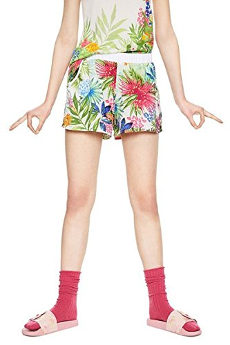 Desigual 18SNPW015069 - Pantalones de Pijama - Psychotropical - Size S