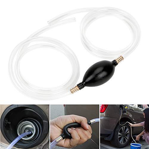 PVC-Rohr Benzin Diesel Flüssigkeit Handpumpe Auto Kraftstoff Gaspumpe Siphon Wasser Öl Transferpumpe