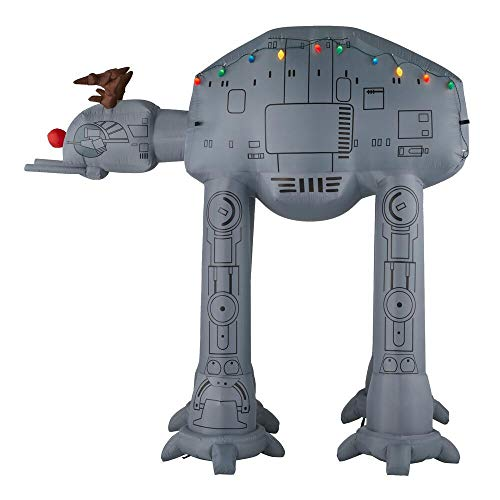 Star Wars 8.5 ft. AT-AT Reindeer Inflatable
