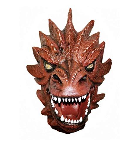 Speer Monster Latex Maske,Scary Vollmaske,Für Erwachsene Halloween Party Cosplay Berühmte Film Kostüm Adult Terror Toy