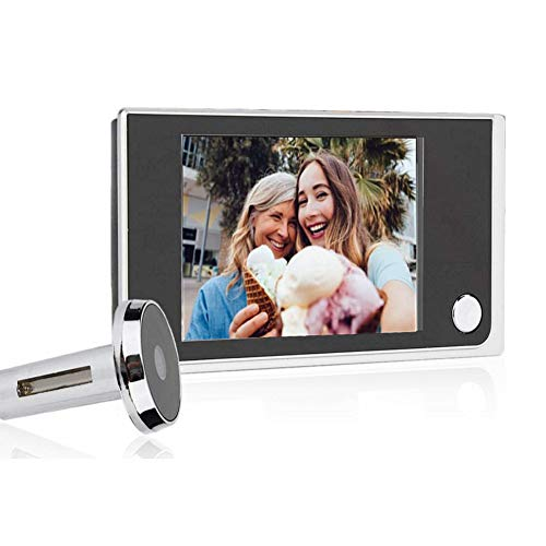 Home Visual Doorbell Digital Door Eye Viewer Camera 3.5 inch LCD HD Screen 120 Degrees Wide Angle View for Home Security System