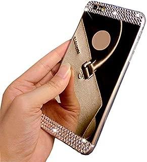 1 piece Bling Diamond Mirror Case For Samsung Galaxy A3 A5 A7 2017 J5 J7 2016 Note 5 S6 S7 Edge S8 Plus Cover for iPhone 8 7 6s Plus 5s
