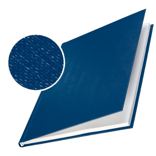 Leitz Buchbindemappe impressBIND Hard Cover 7.0mm blau
