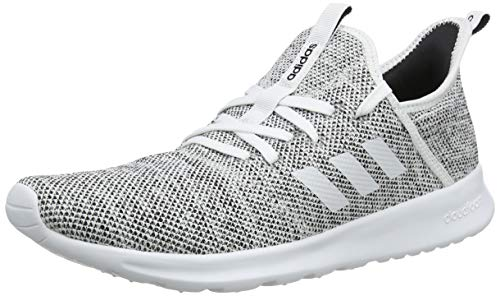 Adidas Cloudfoam Pure, Zapatillas Mujer, Blanco (Footwear White/Footwear White/Core Black 0), 36 2/3 EU