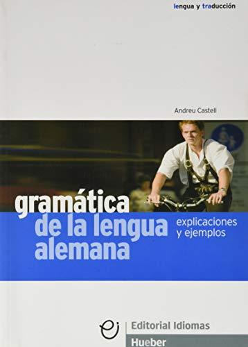 GRAMATICA LENGUA ALEMANA explicaciones (Gramatica Aleman