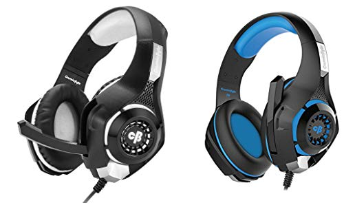 Cosmic Byte GS410 Headphones with Mic and for PS4, Xbox One, Laptop, PC, iPhone and Android Phones&Cosmic Byte GS410 Headphones with Mic and for PS4, Xbox One, Laptop, PC, iPhone and Android Phones