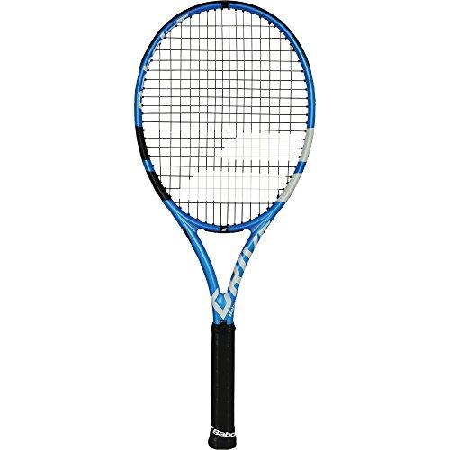 Raqueta de tenis para adultos Pure Drive, de Babolat, modelo de 2018, color azul, tamaño Grip Size 3 (4 3/8 Inches)