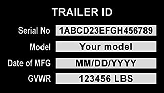 Best trailer id tag Reviews