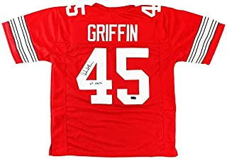 signed archie griffin jersey