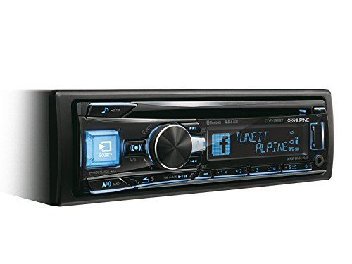 Alpine cde-195bt Auto Stereo (Bluetooth, Front AUX-Eingang)
