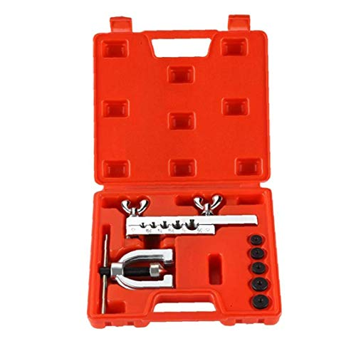 Auto Doppel Bördelgeräte Kit Kupfer-Metallbremsleitung Messingrohre Werkzeug
