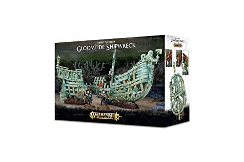 Games Workshop Warhammer Age of Sigmar Idoneth Deepkin: Etheric Vortex: Gloomtide Shipwreck (64-17)