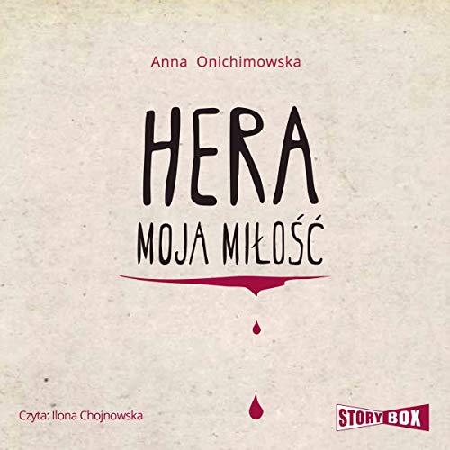 Hera moja miłość audiobook cover art