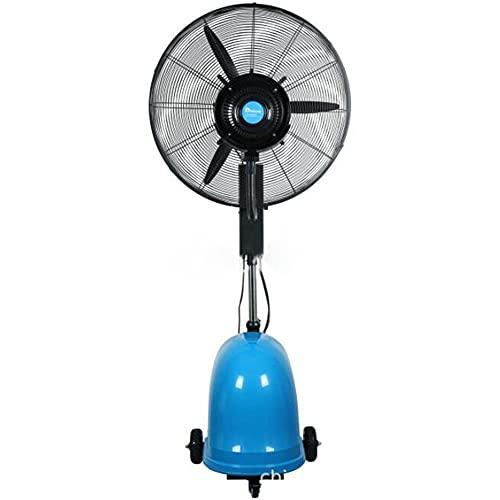 YUYI Climatizadores evaporativos Ventilador de nebulización portátil con operación silenciosa de 3 velocidades, Alto Rendimiento, Elegante Ventilador de nebulización al Aire Libre con Ventiladores de