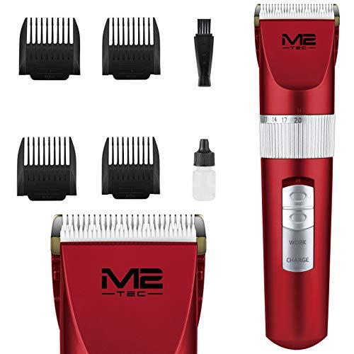 Bartschneider Haarschneider Haarschneidemaschine Keramik Trimmer Akkus Led USB Maschine Haare Herren Haartrimmer Männer Elektrische Hair Clipper Set für Friseur Wiederaufladbar Haarscherer