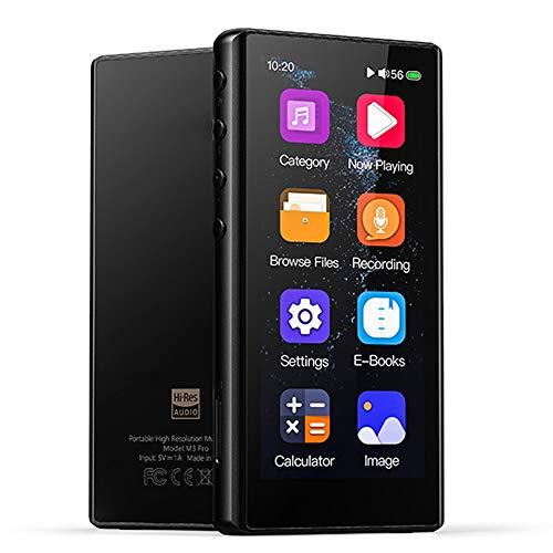 MP3-speler, 3,5 inch volledig touchscreen, hifi, lossless sound-muziekspeler, met voicerecorder, e-book, ondersteuning