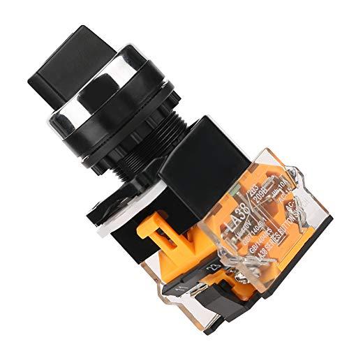 Interruptor giratorio momentáneo del interruptor del reinicio automático del selector momentáneo de 22m m para los circuitos eléctricos eléctricos eléctricos industriales