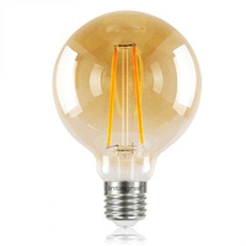 Integral LED Coucher de soleil vintage E27 non dimmable lampe, clair, 95 mm (Globe 95) 2,5 W (40 W) K 170LM