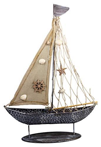 khevga decoratieve boot schip metaal groot badkamerdecoratie maritiem