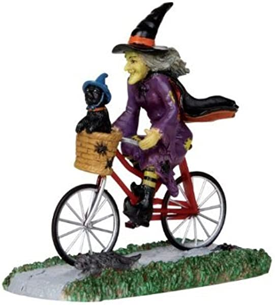 Lemax Spooky Town Be Witching Bike Ride 32109