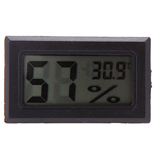 TOOGOO(R) Mini LCD Digital Thermometer Feuchtigkeitsmesser Hygrometer Messgeraet Temperaturmesser Monitor