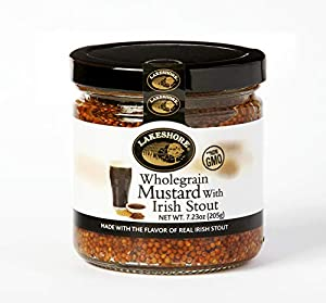 Lakeshore Wholegrain Mustard with Irish Stout