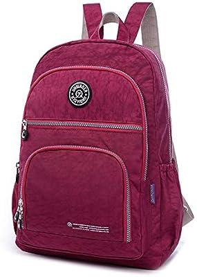 2015 Women Backpack Waterproof Nylon 10 Colors Lady Womens Backpacks Female Casual Travel Bag