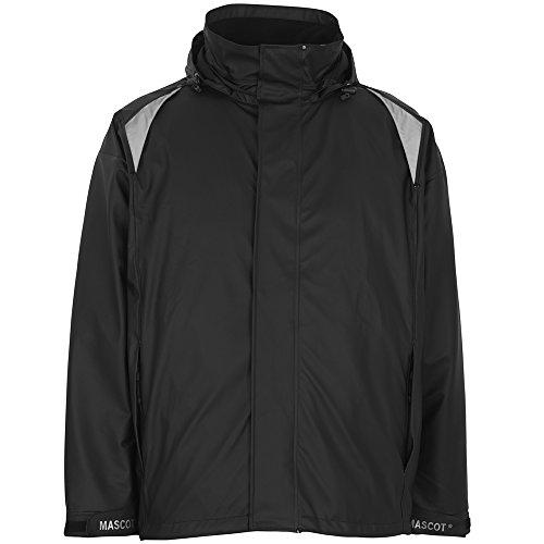 Mascot 50202-859-09-XL Jacket Regenjacke Lake, schwarz, XL