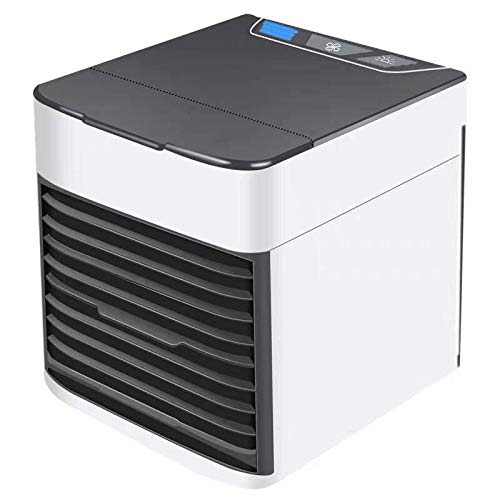 N/D Personal Portable Air Cooler and Humidifier,Desktop air Conditioning Fan,USB Interface Fast Charging Suitable for Office, Home