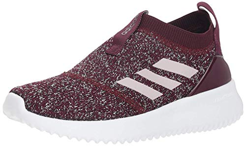 adidas Women's UltimaFusion Running Shoe, Maroon/ice Purple/White, 9.5 M US