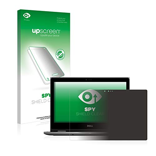 upscreen Privacy Screen Protector compatible with Dell Latitude 3390 2-in-1 (one camera) - Anti-Spy Screen Protection