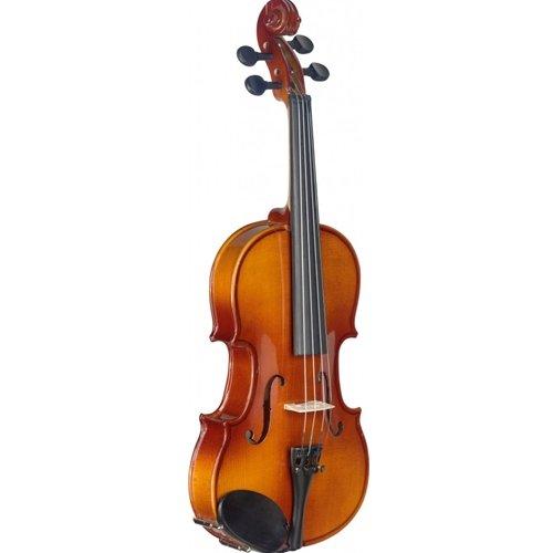 Stagg 22375/4 tamaño 1 de arce sólido en forma de Estuche blando estándar de violín con