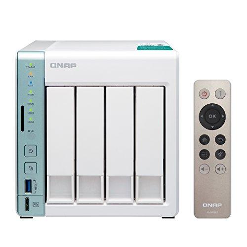 QNAP TS-451A 専用OS QTS搭載 Celeron N3060 デュアルコア1.6GHz CPU 2GBメモリUSB QuickAccessポート搭載 4ベイNAS 2年保証