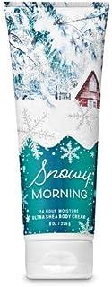 【Bath&Body Works/バス&ボディワークス】 ボディクリーム スノーウィーモーニング Ultra Shea Body Cream Snowy Morning 8 oz / 226 g [並行輸入品]