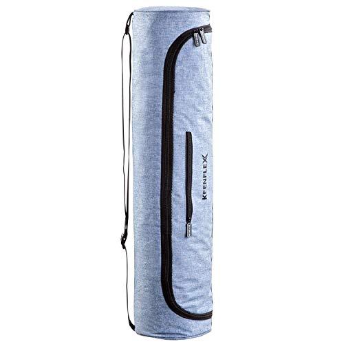 KeenFlex Väska för yogamattor Vattentätt tyg Bekväm Låg vikt (Jeans)