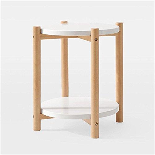 Tables FEI - Bureau d'ordinateur Côté Bois Basse, 50 X 55 Cm, Blanc pour Tous Les postes de Travail